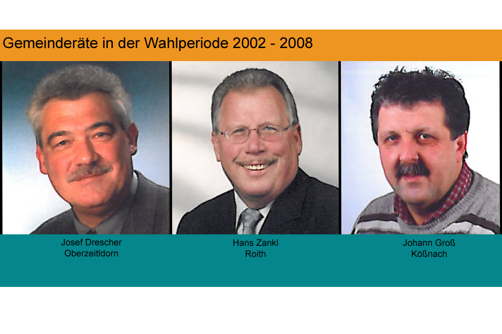 Wahlperiode 2002 bis 2008
